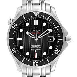 Omega Seamaster James Bond Steel Mens Watch 212.30.41.20.01.002 Card