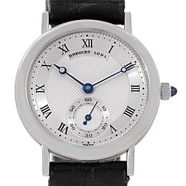 Breguet 3210 Classique 18K White Gold Mechanical Mens Watch