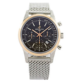 Breitling Transocean Chronograph UB015212/Q594-154 18K Rose Gold 43mm Watch