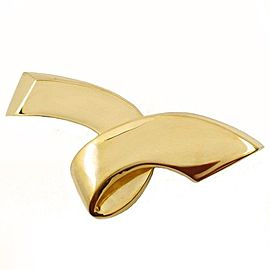 Tiffany & Co. 18K Yellow Gold By Paloma Picasso Ribbon Brooch