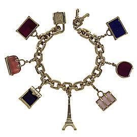 Louis Vuitton 18K Yellow Gold Charm Bracelet