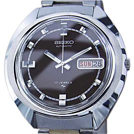 Seiko 7006 7119 Stainless Steel Automatic Vintage 39mm Mens Watch 1970s