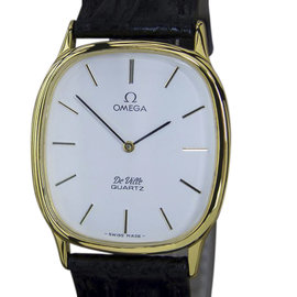 Omega DeVille Gold Plated and Stainless Steel Vintage 38mm Mens Watch