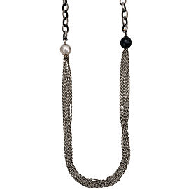Gurhan Sterling Silver Chain Necklace