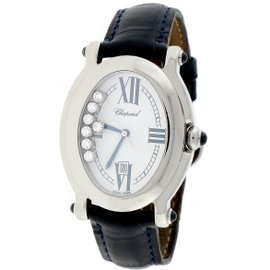 Chopard Happy Sport 278937-3005 Stainless Steel & Diamonds 29mm Womens Watch