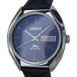 Orient Bronco YY24 Stainless Steel Manual Vintage 35mm Mens Watch
