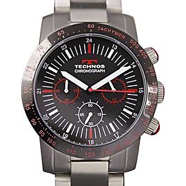 Technos Chronograph C2000 YY8 Stainless Steel 43mm Mens Watch