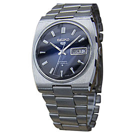 Seiko 5 Actus Stainless Steel Vintage 36mm Mens Watch