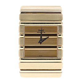Piaget Polo 7131 C701 18K Yellow Gold Quartz 25mm Unisex Watch