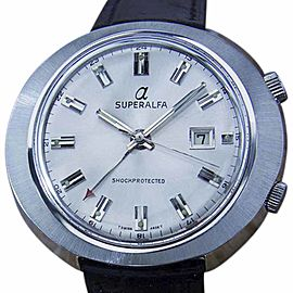 Superalfa Alarm MX151 Vintage 45mm Mens Watch