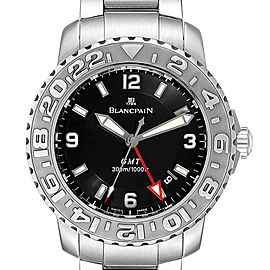 Blancpain Fifty Fathoms Trilogy GMT Steel Mens Watch 2250