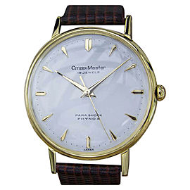 Citizen Master Rare 35mm Vintage Mens Watch