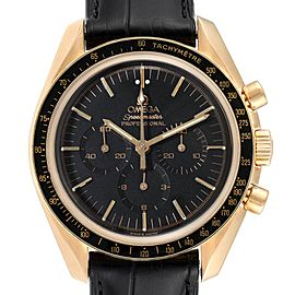 Omega Speedmaster Moonwatch Yellow Gold Mens Watch 3695.50.31