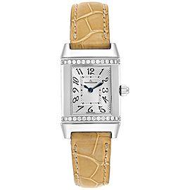 Jaeger LeCoultre Reverso Florale Ladies Diamond Watch 265.8.86 Q2658430