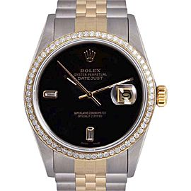 Rolex Datejust 18K Yellow Gold / Stainless Steel 36mm Mens Watch