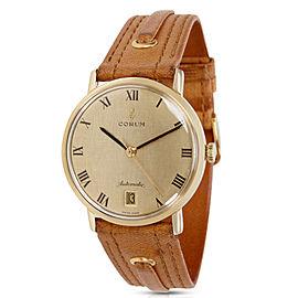Corum Dress 89127 Yellow Gold 33mm Unisex Vintage Watch