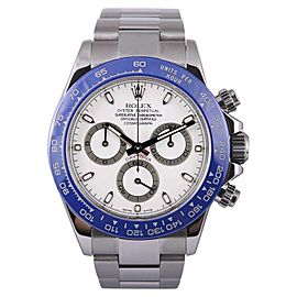 Rolex Daytona 116520 Stainless Steel White Dial Automatic 40mm Mens Watch