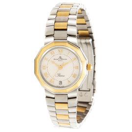 Baume & Mercier Riviera 5231 18K Yellow Gold Stainless Steel 24mm Womens Watch