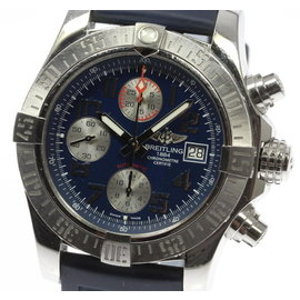Breitling Avenger II A13381 Chronograph Stainless Steel Automatic 43mm Mens Watch