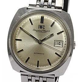 IWC Schaffhausen Stainless Steel Automatic 36mm Mens Vintage Watch