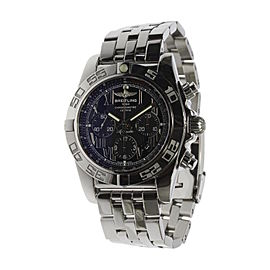 Breitling Chronomat 44 AB0110 Stainless Steel Automatic 44mm Mens Watch