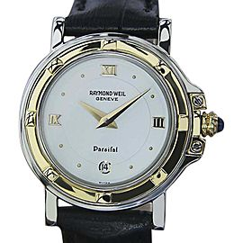 Raymond Weil Parsifal 18K Gold Plated & Stainless Steel 27mm Womens Watch