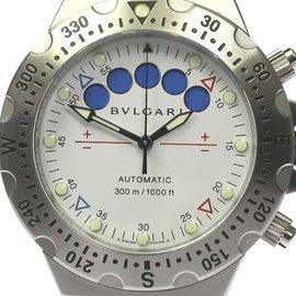 Bulgari Diagono Scuba SD40SRE Stainless Steel Automatic 40mm Men's Watch