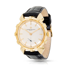 Vacheron Constantin Helm 4709 18K Yellow Gold & Leather Manual Vintage 33mm Unisex Watch