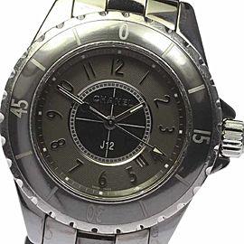 Chanel J12 H2978 Chromatic Titanium Ceramic Quartz 34mm Womens Watch