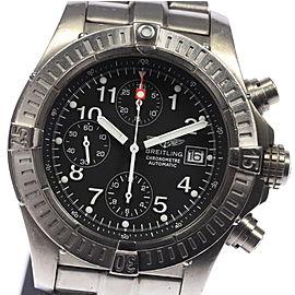 Breitling Chrono Avenger E13360 Titanium Automatic 44mm Mens Watch