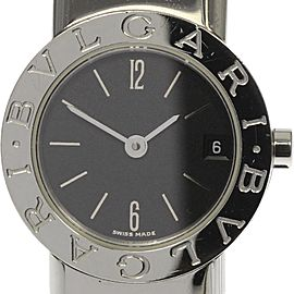 Bulgari Tubogas BB232TS Stainless Steel Quartz 23mm Womens Watch