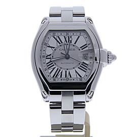 Cartier Roadster 2722 Stainless Steel Automatic 43mm Mens Watch