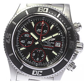 Breitling Super Ocean A110B81PRS Stainless Steel Automatic 44mm Mens Watch