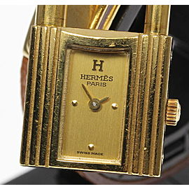 Hermes Kelly Gold Plated / Stainless Steel Quartz 20mm Womens Watch