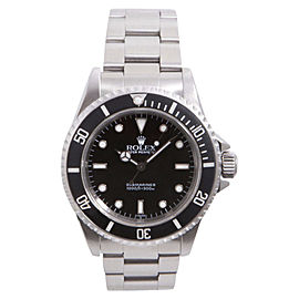Rolex Submariner No Date 14060 Stainless Steel with Black Dial 40mm Mens Watch