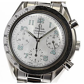 Omega Speedmaster 3502.71 Stainless Steel White Shell Dial Automatic 39mm Men's Watch