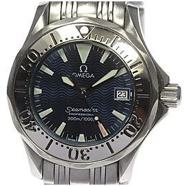 Omega Seamaster 2584.80 Stainless Steel Limited Edition Quartz 29 mm Womens Watch