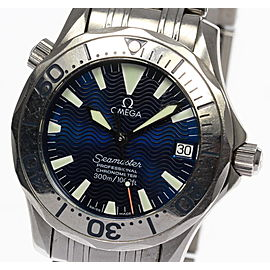 Omega Seamaster 2553.80 Stainless Steel Automatic 36mm Mens Watch