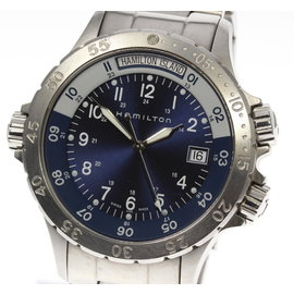 Hamilton Khaki H745410 Stainless Steel with Navy Dial Quartz 40mm Mens Watch