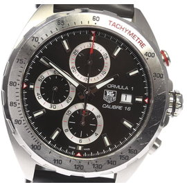 Tag Heuer Formula1 CAZ2010-0 Stainless Steel & Rubber Automatic 45mm Mens Watch