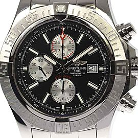 Breitling Super AvengerII A13371 Stainless Steel Automatic 52mm Mens Watch