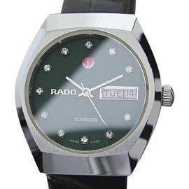 Rado Voyager EX1 Stainless Steel Automatic Vintage 35.5mm Mens Watch