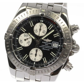 Breitling Chronomat Evolution A13356 Stainless Steel Automatic 43mm Mens Watch