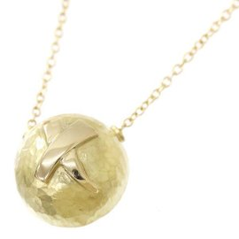 Tiffany & Co. Paloma Picasso 18K Yellow Gold Kiss Necklace