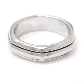 Piaget 18K White Gold Ring Size 7.5