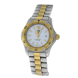 Tag Heuer Professional WK1320 Stainless Steel & Yellow Gold Plated Quartz 29mm Womens Watch