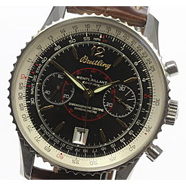 Breitling Montbrillant A48330 Stainless Steel Automatic 43mm Mens Watch