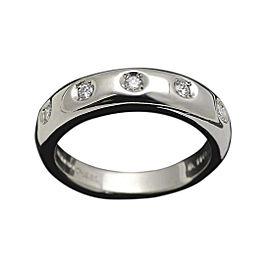 Mikimoto Platinum 0.11ct Diamond Ring Size 6