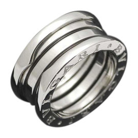 Bulgari B-zero 1 18K White Gold Ring Size 4.5