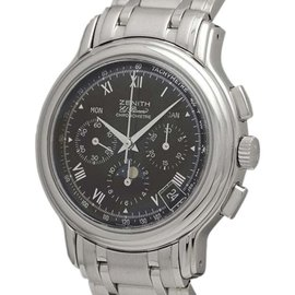 Zenith El Primero 02.0240.410 Stainless Steel Automatic 38mm Mens Watch